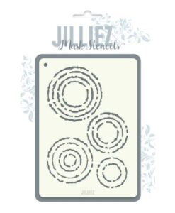Jilliez Mask Stencil A6 - 0007