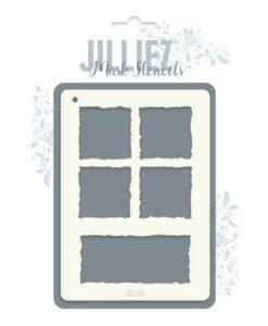 Jilliez Mask Stencil A6 - 0015