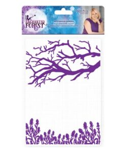 Enchanted Forest Embossing Folder - Mysterious Garden
