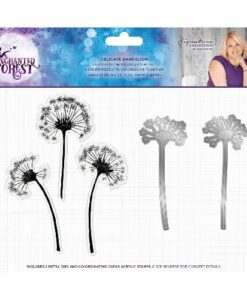 Enchanted Forest Stamp & Die Set - Delicate Dandelion
