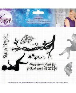 Enchanted Forest Stamp & Die Set - Shine Bright