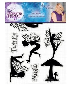 Enchanted Forest A6 Clear Stamp - Fairy Dance