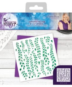 Enchanted Forest Stencil - Hanging Foliage