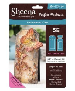 Sheena Douglass Perfect Partners Die – Contemporary Tags