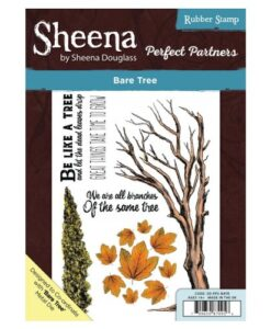 Sheena Douglass Perfect Partners A5 UM Stamp – Bare Tree