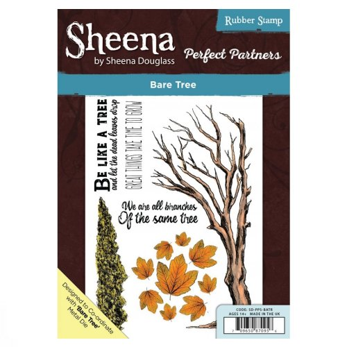 Sheena Douglass Perfect Partners A5 UM Stamp – Bare Tree