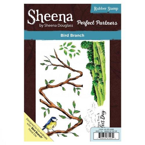 Sheena Douglass Perfect Partners A5 UM Stamp – Bird Branch