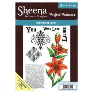 Sheena Douglass Perfect Partners A5 UM Stamp – Blooming Lilies