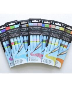 Spectrum Noir AquaTint Brush Pens - Complete Set
