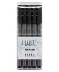 Jilliez Artliners - Black
