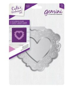 Gemini Cut and Emboss Folder – Biarritz Frame