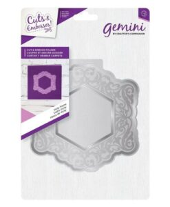 Gemini Cut and Emboss Folder – Vichy Frame