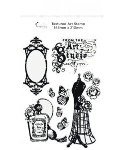 Imagination Crafts - A5 Art Stamp - Vintage Chic