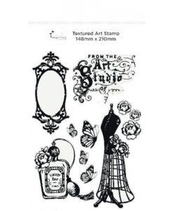 Imagination Crafts - A5 Art Stamp - Vintage Chic