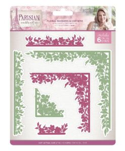 Sara Signature Collection Parisian Metal Die - Floral Borders & Corners