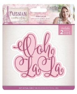 Sara Signature Collection Parisian Metal Die - Ooh La La