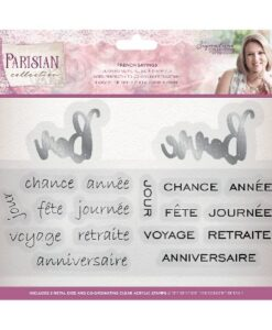 Sara Signature Collection Parisian Stamp & Die - French Sayings