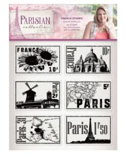 Sara Signature Collection Parisian Acryl Stamp - French Stamps