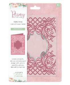 Nature's Garden Peony Collection - Cut & Emboss Folder Trellis Vines