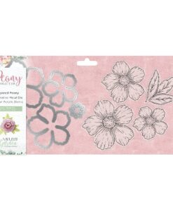 Nature's Garden Peony Collection Stamp & Die - Layered Peony