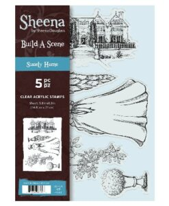 Sheena Douglass A5 Acrylic Stamp - Stately Home