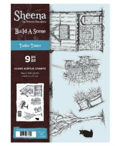 Sheena Douglass A5 Acrylic Stamp - Tudor Times