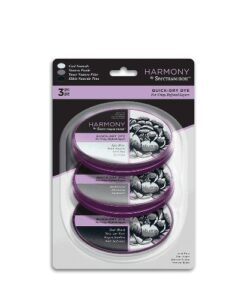 Spectrum Noir Inkpad (3PC) Harmony Quick Dry – Cool Neutrals