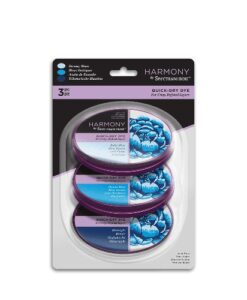 Spectrum Noir Inkpad (3PC) Harmony Quick Dry – Dreamy Blues