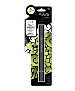Spectrum Noir TriBlend Marker - Citrus Green Blend