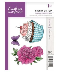 Crafter's Companion A6 UM Stempel – Cherry on Top