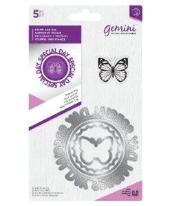 Gemini Circle Sentiment Stamp & Die - Special Day