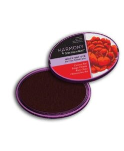 Spectrum Noir Inkpad Harmony Quick Dry – Chinese Red