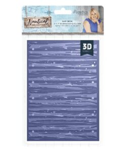 Sara Signature Collection Nautical #D Embossing Folder - Ship Deck