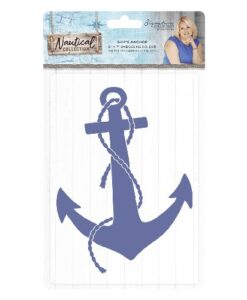 Sara Signature Collection Nautical Embossing Folder - Ship's Anchor