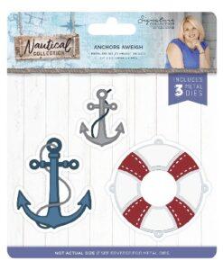 Sara Signature Collection Nautical Metal Die - Anchors Aweigh