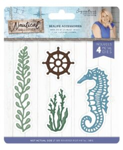 Sara Signature Collection Nautical Metal Die - Sealife Accessories