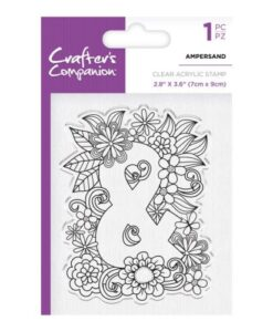Crafter's Companion Clear Stamp - Ampersand