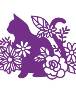 Gemini Elements Silhouette Animal Dies - Silhouette Cat