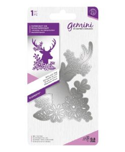 Gemini Elements Silhouette Animal Dies - Silhouette Hert