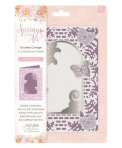 Spring is in the Air Cut & Emboss Folder - Country Cottage