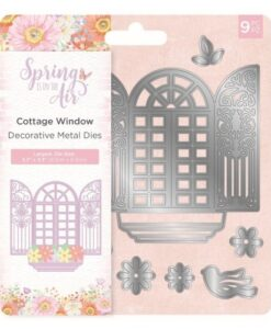 Spring is in the Air Metal Die - Cottage Window