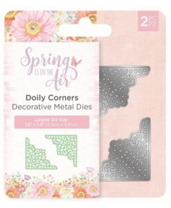 Spring is in the Air Metal Die - Doily Corners