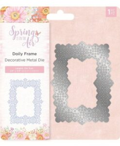 Spring is in the Air Metal Die - Doily Frame