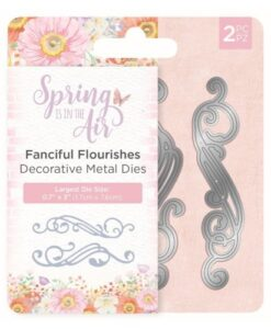 Spring is in the Air Metal Die - Fanciful Flourishes