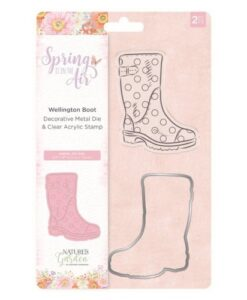 Spring is in the Air - Stamp & Die Wellington Boot