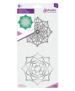 Gemini Mandala Stamp & Die – Aura