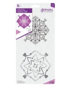 Gemini Mandala Stamp & Die – Cosmic