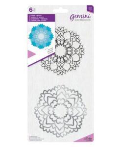 Gemini Mandala Stamp & Die – Harmony