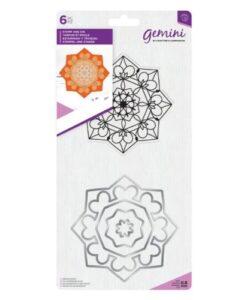 Gemini Mandala Stamp & Die – Zen