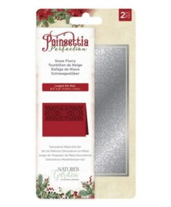 Poinsettia Perfection Metal Die – Snowflurry
